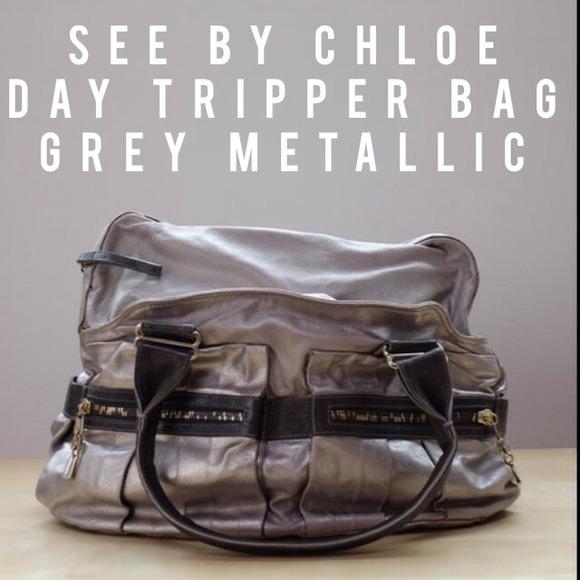 Chloe Metallic Day Tripper Bag Best Chloe Replica Handbags