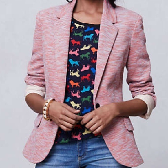 Anthropologie Jackets & Blazers - 💥HOST PICK💥 Anthropologie Knit Cotton Blazer