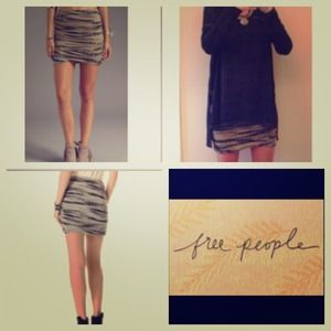 New with tags Free people mini skirt. Size xs