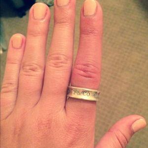 Listing Tiffany 1837 Gold Ring 18k 572632206d64bc8aba053ec8 Tiffany 1837 Ring