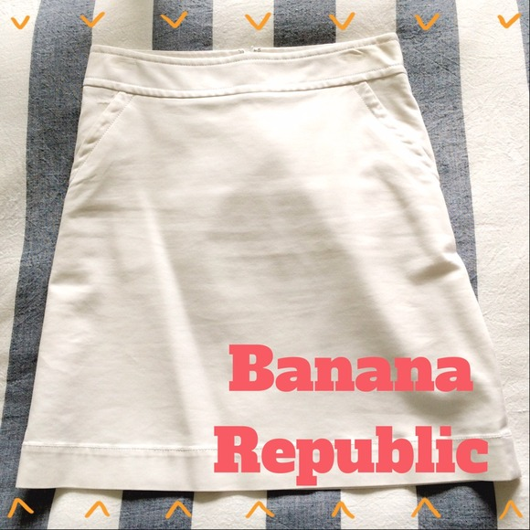 Banana Republic Skirts - White Banana Republic Skirt