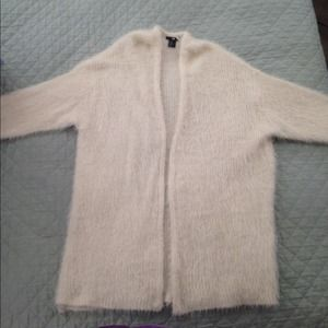 H&M Oversized Sweater In Cream Sz M/L