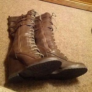 951cc37e51d MIA Shoes - MIA Ursela Wedge Boot