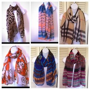 Scarves scarf $14 each or 2 for $20
