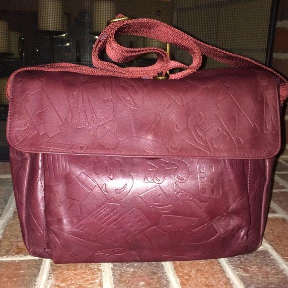 62% off Prada Handbags - + SOLD + Vintage PRADA Red Leather ...