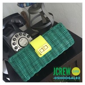 HOST PICK J.Crew Clutch NWT