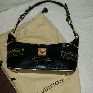 Louis Vuitton Suhali L'Impetueux Black Bag