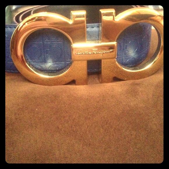 How To Tell If A Ferragamo Belt Is Real >> Salvatore Ferragamo Accessories Belt Poshmark