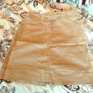 Old navy khaki pencil skirt