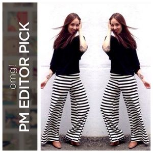 Fighting Eel Pants - Striped pants