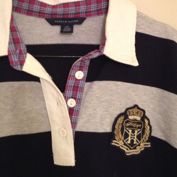 Tommy Hilfiger Striped Polo Shirt Tommy Hilfiger Rugby Striped