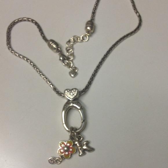 Brighton brighton charm holder necklace from kristen 39 s for Brighton badge holder jewelry