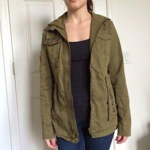 Forever 21 Jackets & Blazers - Forever21 utility jacket