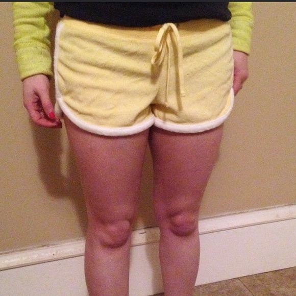 Express Other - Express Yellow Terry Shorts, Size XS