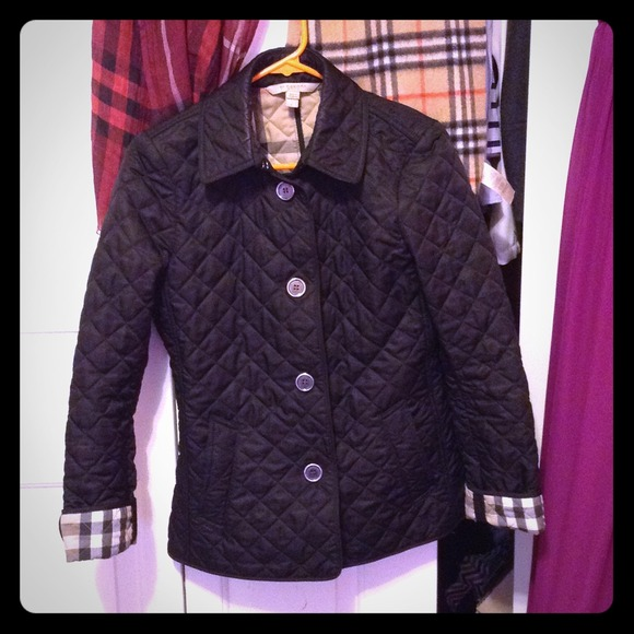 16% off Burberry Jackets & Blazers - Burberry Diamond Quilted ... : burberry purple quilted jacket - Adamdwight.com