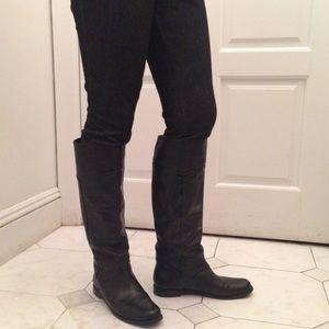 Via Spiga Shoes - Via spiga Classic black (real) leather boots