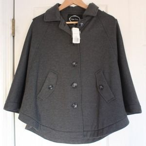 Forever 21 Grey Cape (Small)