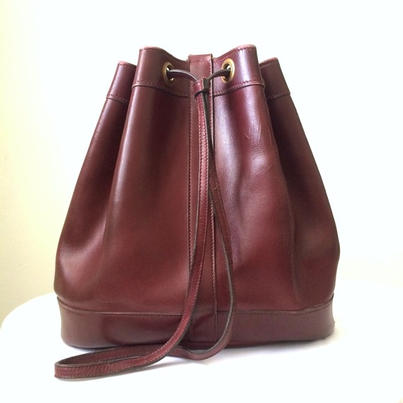 vintage hermes bucket bag