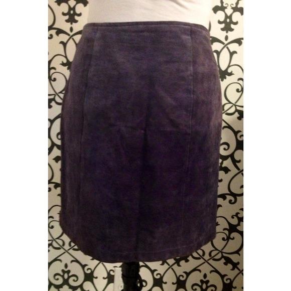 60 wilsons leather dresses skirts vintage purple