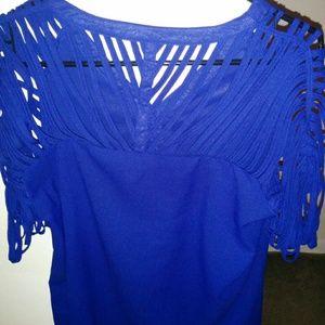 Tops - Blue dressy blouse