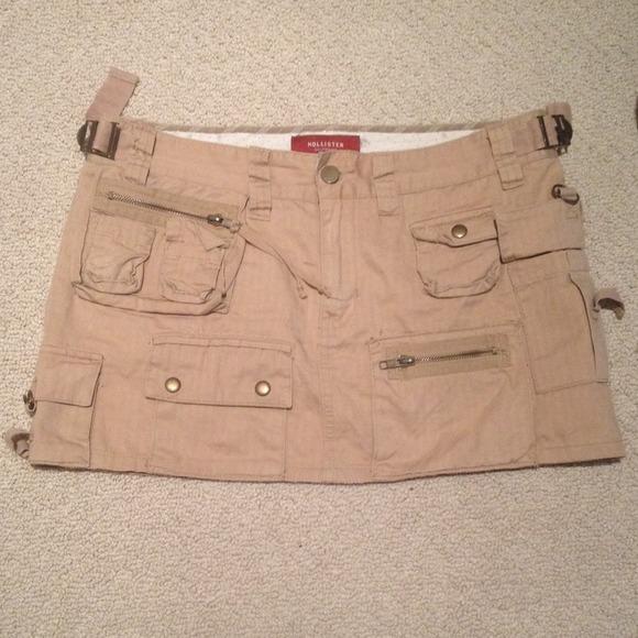 Holer Cargo Khaki Mini Skirt From Suz Tanja S Closet On Poshmark