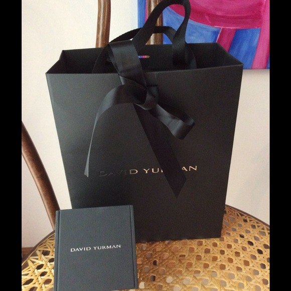 David Yurman Jewelry Authentic Gift Box Bag Lace Poshmark
