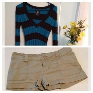Other - Sweater and shorts bundle