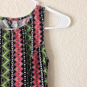 H&M Dresses - Aztec Print Skater Dress