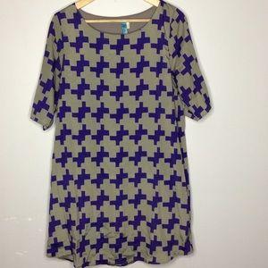 Buttans Beautiful Tunic Print Dress Size M