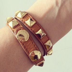 Rebecca Minkoff Leather Bracelet dAIQZtru