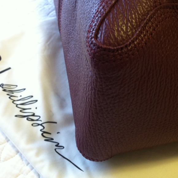 3.1 Phillip Lim Handbags - Authentic 3.1 Phillip Lim Pashli in Burgundy 4