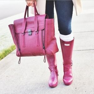 3.1 Phillip Lim Bags - Authentic 3.1 Phillip Lim Pashli in Burgundy