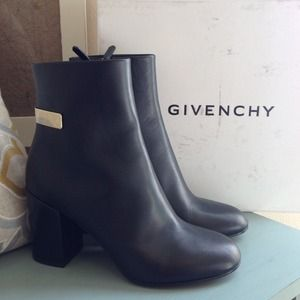 Givenchy Boots - Authentic Givenchy Calf Leather Boots
