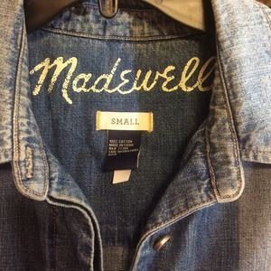 Madewell Other - Madewell denim painters suit