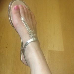 Authentic Chanel sandal