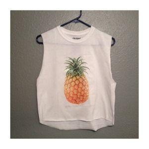 Tops - Pineapple Crop Top 🍍