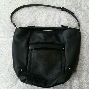 Zara Perforated Bucket Bag