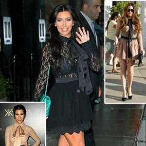 Kardashian Kollection Lace Blouse