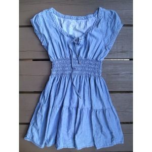 Seven7 Dresses & Skirts - Blue chambray dress