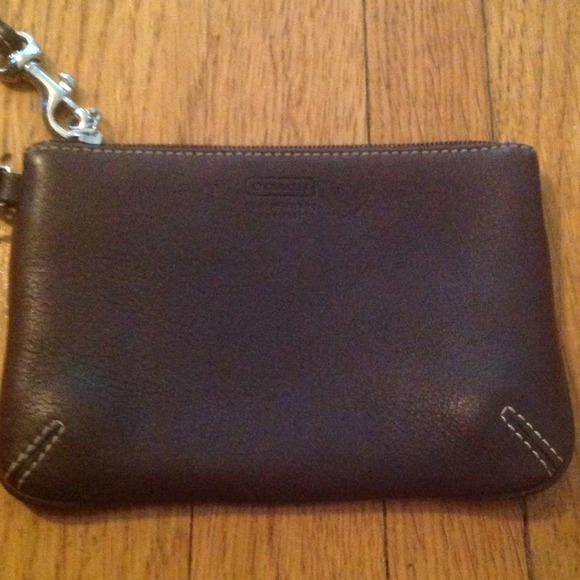 coach handbag outlet online 4sha  coach brown leather wristlet coach brown leather wristlet