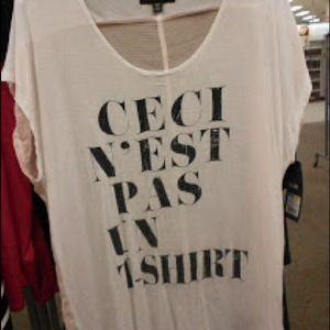 Tops - Ceci n'est pas un T-shirt