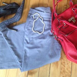 Grey work pants H&M