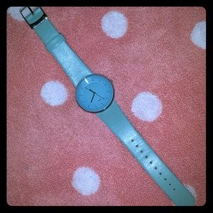 Alessi Jewelry - Alessi Luna Watch Limited Addition Light Blue