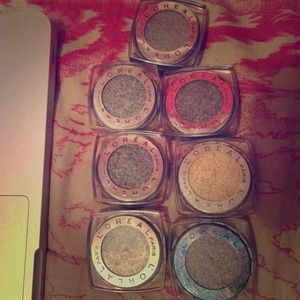 Accessories - 7 infallible L'oreal eyeshadows