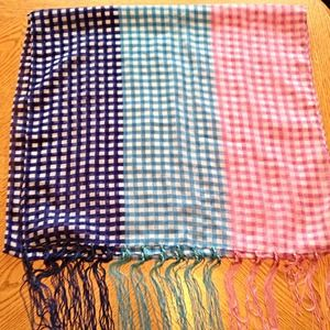 Charming Charlie Gingham Scarf