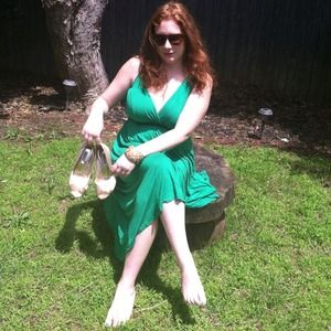 Greek goddess green dress SALE TODAY ONLY