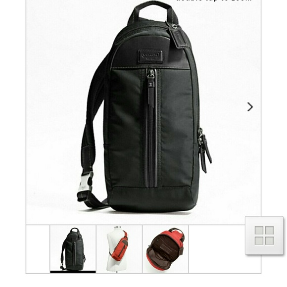 90% off Coach Handbags - NWT Authentic Coach Varick Nylon ...