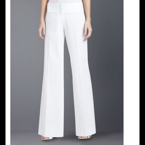 "85% off BCBGMaxAzria Pants - BCBG MaxAzria ""Carolyn"" white sailor ..."