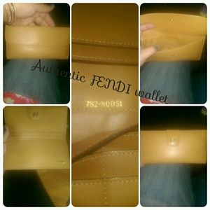 Fendi slim wallet