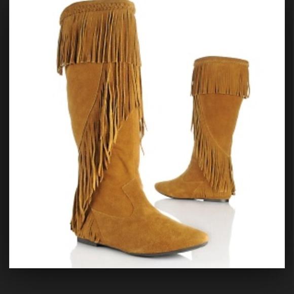 4ca0ed8fddcc Brand New Sam Edelman Utah Fringe Boot size 10. M 538a52aa2d2490791d0d70f2